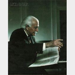 Yousuf Karsh (Canadian, 1908-2002)      Arthur Fiedler