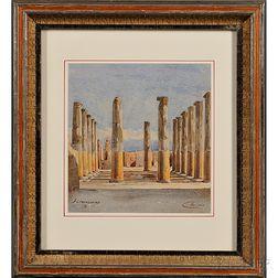 Frederick Crowninshield (American, 1845-1918)      Pompeii