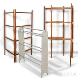 Three Assorted Drying Racks.     Estimate $100-200