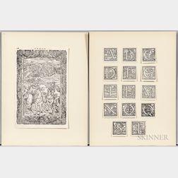 Gebelin, Antoine Court de (1725-1784) Recueil de Cartes Geographiques et d'Estampes pour l'Histoire Philosophique du Monde Primitif.