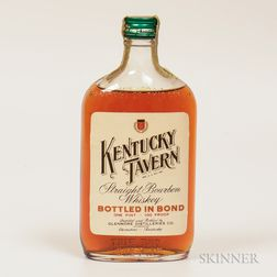 Kentucky Tavern 4 Years Old 1941, 1 pint bottle