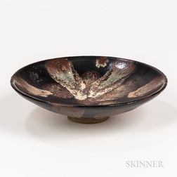 Black-glazed Shallow Bowl