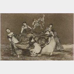 Francisco de Goya (Spanish, 1746-1828)  Los Proverbios