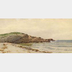 Alfred Thompson Bricher (American, 1837-1908)  At Annisquam, Massachusetts