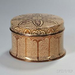 Wedgwood New Hispano-Moresque Design Lustre Box and Cover