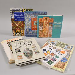 Seven Books on The History of Decorative Tiles