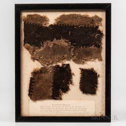 Patchwork Shroud Fragment