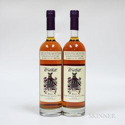 Willett Single Barrel Bourbon 6 Years Old, 2 750ml bottles