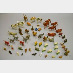 Large Group of Miniature Animals
