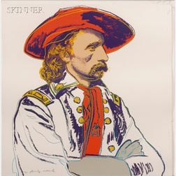 Andy Warhol (American, 1928-1987)      General Custer
