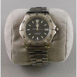 Gentleman's Stainless Steel Tag Heuer Professional Wristwatch