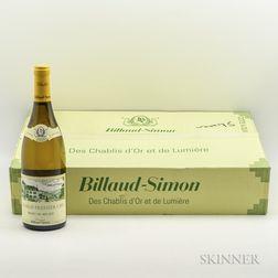 Billaud Simon Chablis Mont de Milieu 2014, 6 bottles (oc)