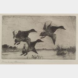 Frank Weston Benson (American, 1862-1951)    Duck Stamp Design