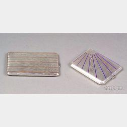 Two Silver Cigarette Cases