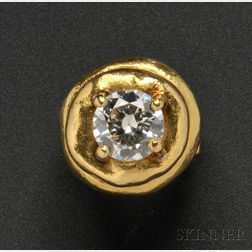 High-karat Gold and Diamond Ring, Jean Mahie