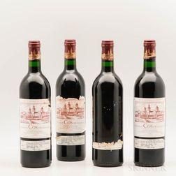 Chateau Cos dEstournel 1984, 4 bottles