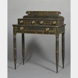 Fancy-Painted Dressing Table