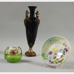 Three Decorative Ceramic Items