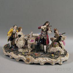 Dresden Porcelain Plateau