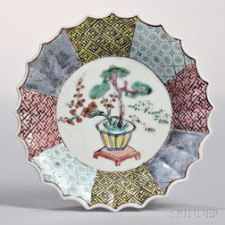 Small Famille Rose Dish
