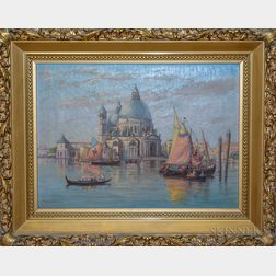 C. Myron Clark (Massachusetts, 1858-1925)       Palladio's Church, Venice