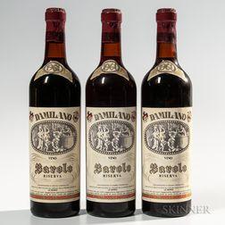 Damilano Barolo Riserva 1961, 3 bottles