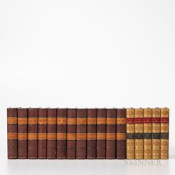 Two Multivolume Works by Washington Irving (1783-1859).