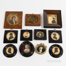 Eleven Framed Portraits