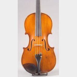 French Violin, Fournier-Magnie, Mirecourt