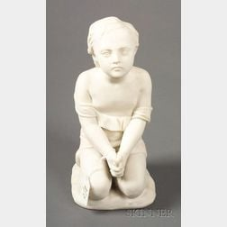 "Minton Parian Figure Representing ""Prayer"""