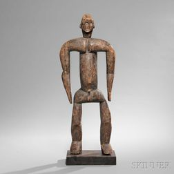 Vere Carved Wood Male Figure