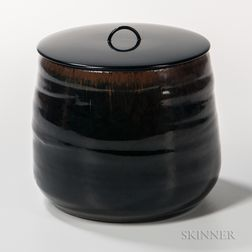 Malcolm Wright Studio Pottery Vessel