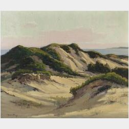 Charles Gordon Harris (American, b. 1890)  Sand Dunes, Westport Point