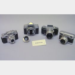 Eleven 35mm Cameras