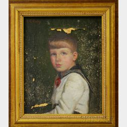 Lilla Cabot Perry (American, 1848-1933)      Little Boy in a Sailor Suit
