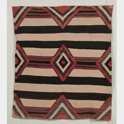 Navajo Third Phase Chief's Pattern Textile