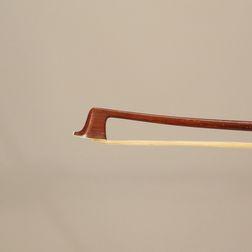 Nickel-silver-mounted Violin Bow