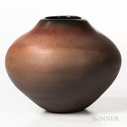 Contemporary Santa Clara Pottery Jar