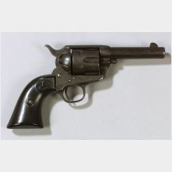 Rare Sheriff's Model Colt Single Action Army Revolver