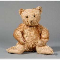 Steiff Long Gold Mohair Teddy Bear