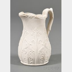 Parian Ware Syrup Pitcher