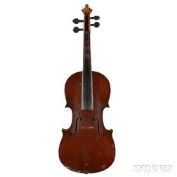 Czech Three-quarter Size Violin
