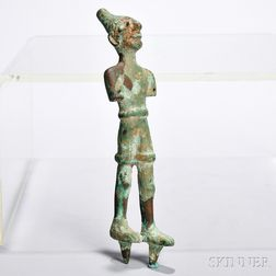 Canaanite Copper Figure of a Deity