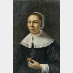Dutch School, 17th Century      Wedding Portrait of a Woman