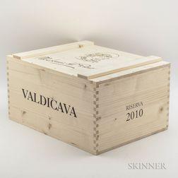 Valdicava Brunello di Montalcino Madonna del Piano Riserva 2010, 6 bottles (oc)