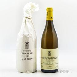 Bonneau du Martray Corton Charlemagne 2004, 2 bottles
