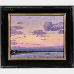 Scott Moore (American, b. 1953)      Fox Islands Sunrise