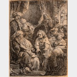 Rembrandt van Rijn (Dutch, 1606-1669)      Joseph Telling his Dreams