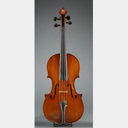 Modern Italian Violin, Giuseppe Castagnino, Genoa, c. 1920