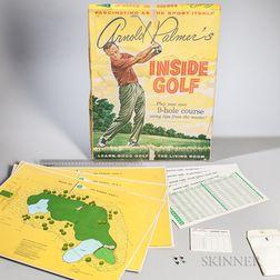 """""""Arnold Palmer's INSIDE GOLF"""" Vintage Parlor Game"""